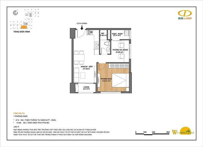Thiết kế căn hộ C2