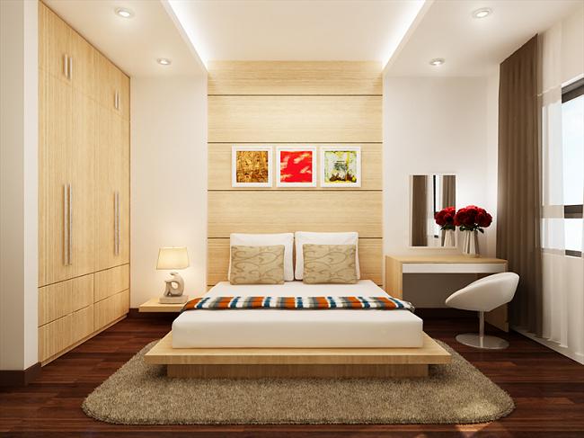 Hình ảnh phòng ngủ căn hộ Đức Long Golden Land