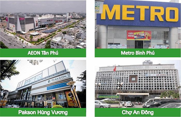 tiện ích ngoại khu nổi bật của Dự án Avila 2 quận 8